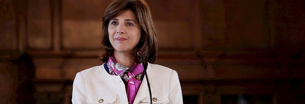 Interview with Maria Angela Holguin, minister of foreign affairs