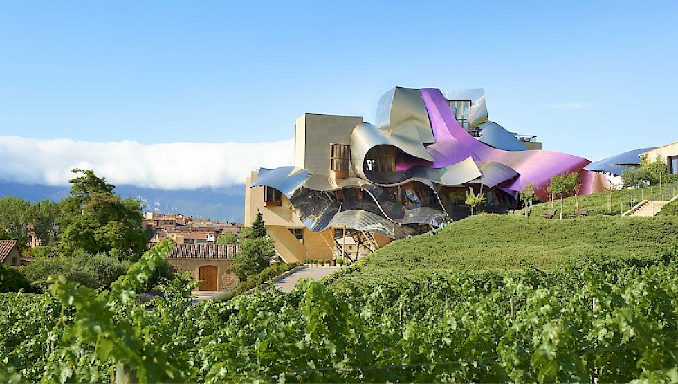The Frank Gehry-designed Marques de Riscal hotel, opened in 2006. Photo: Marques de Riscal