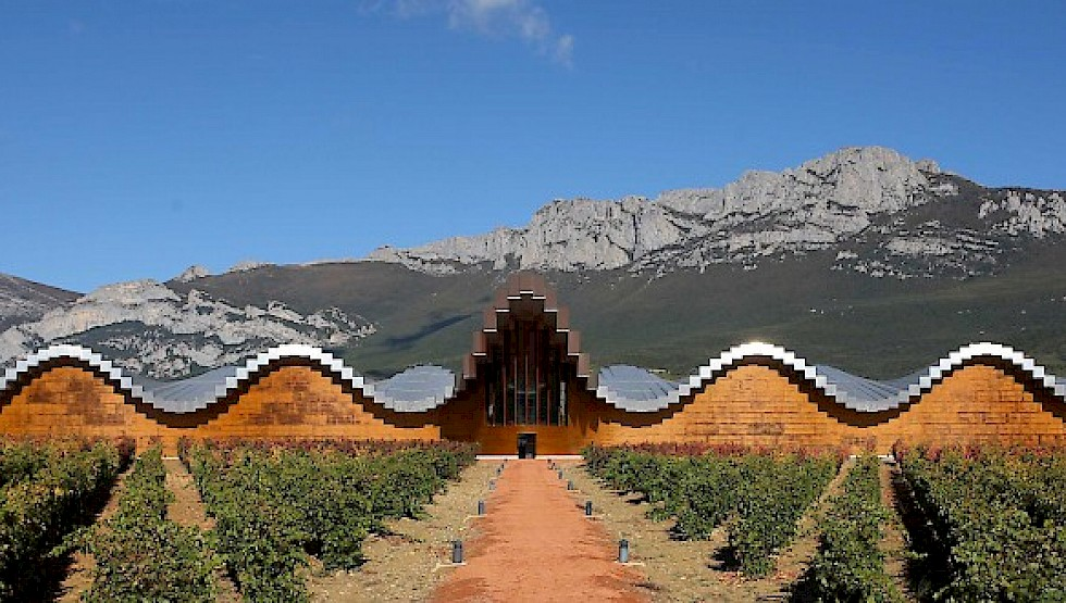 Ysios is one of the Rioja Alavesa's most innovative producers, focusing entirely on reserve wines. Photo: Basque Tourism