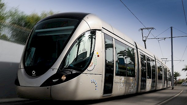 The Rabat-Saleh tramway, the first project in the South Mediterranean to benefit from the EU Neighbourhood Investment Facility. Photo: Bouregreg Valley Development Agency