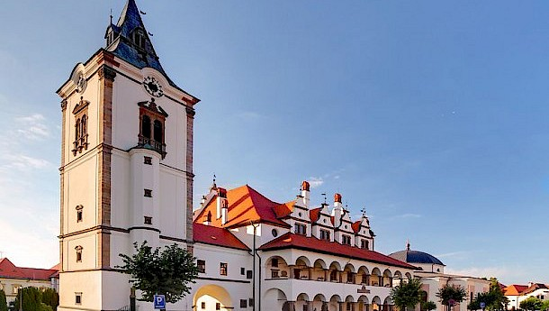 Levoca, part of the World Heritage Site that also includes Spis Castle.
