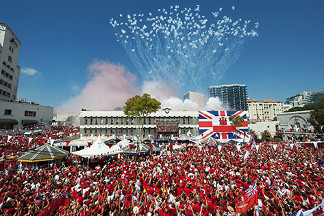 Gibraltar National Day is celebrated every year on 10th September. Photo: InfoGibraltar