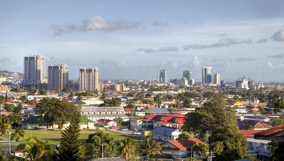 Port of Spain, Trinidad and Tobago's capital.