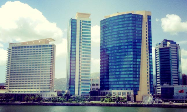 Port of Spain: international financial centre