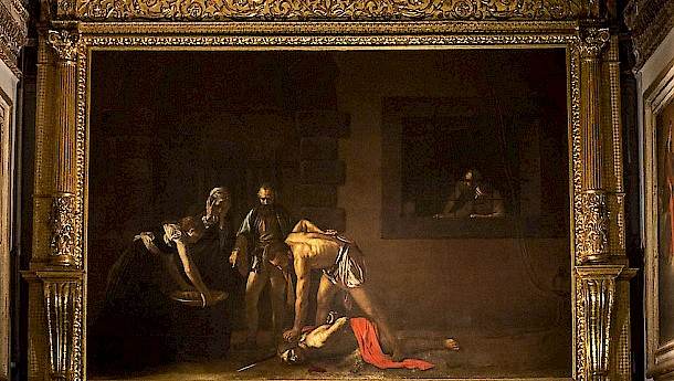 One of Malta's more famous residents was the artist Caravaggio